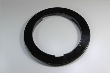 GPO Black Plain Telephone Dial Surround